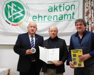 v.l.n.r.: Peter Schmid, Bernd Mädler, Bruno Trenkle